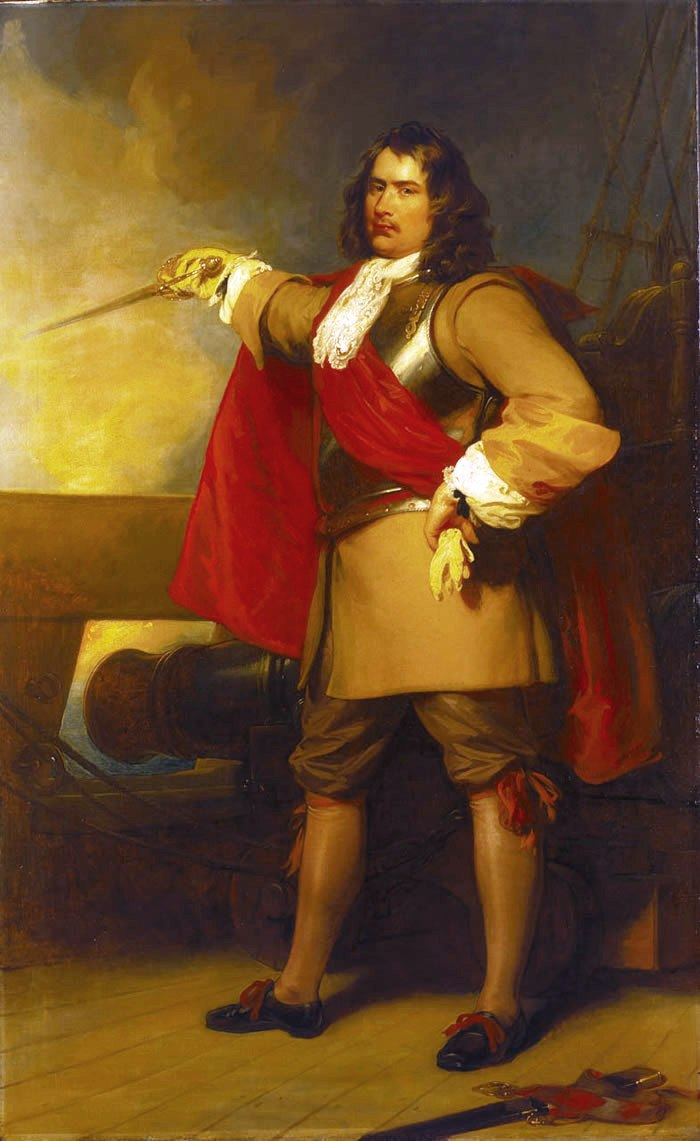 Robert Blake, General at Sea, 1599–1657 by Henry Perronet Briggs, painted 1829.
