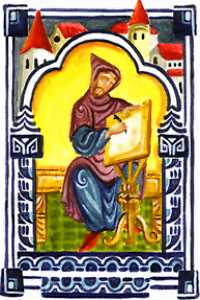 Dionysius Exiguus invented Anno Domini years to date Easter.