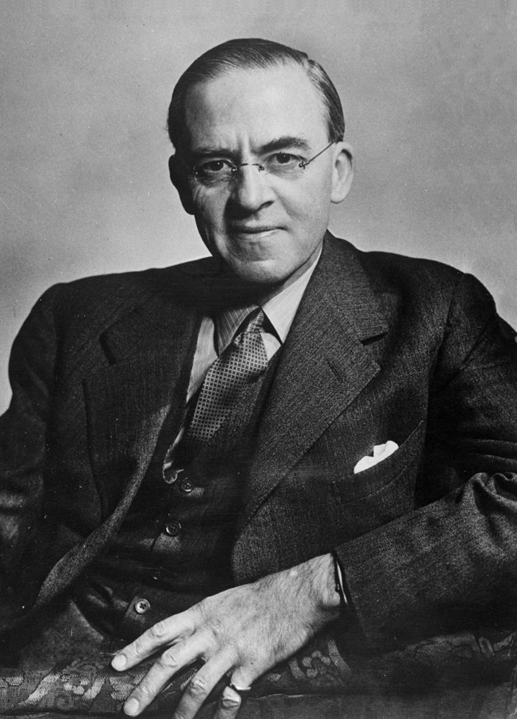 斯塔福德·克里普斯(Stafford Cripps),1947年。