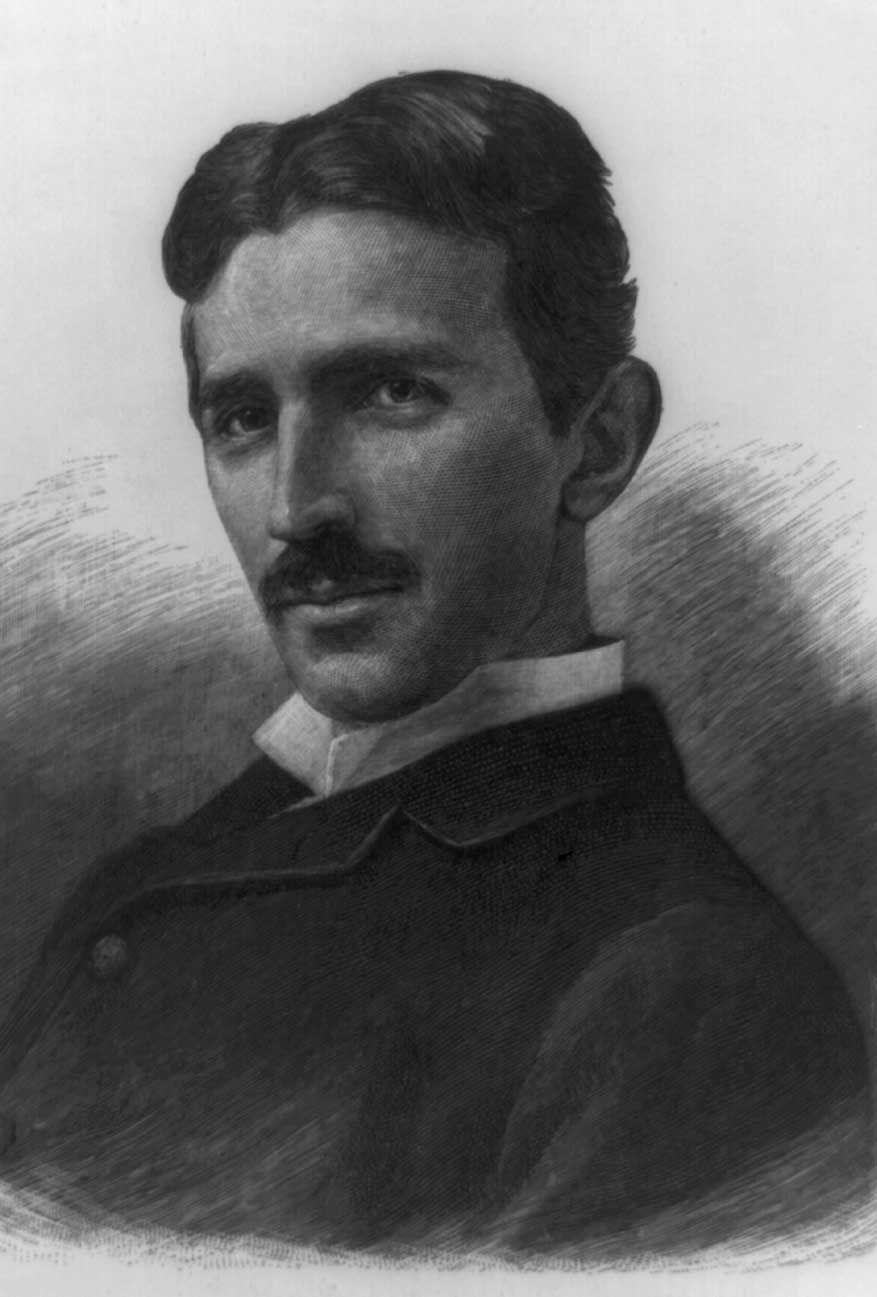 Nikola Tesla, 1856-1943. Library of Congress.