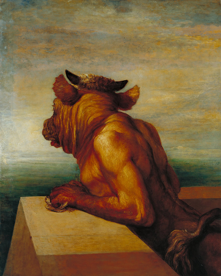 The Minotaur, George Frederic Watts, 1885.