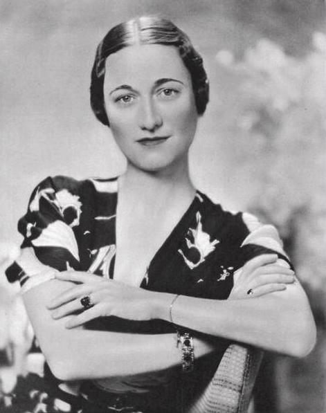 Portrait of Wallis Simpson in 1936