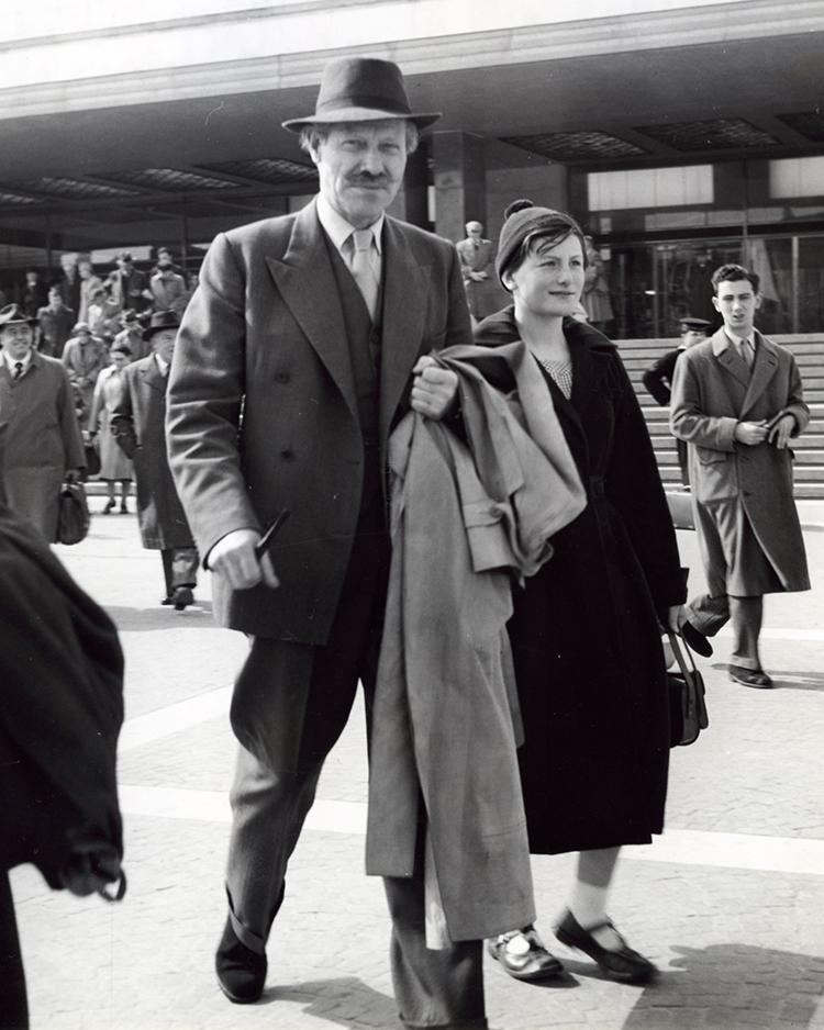 Mortimer Wheeler in Venice, 1960.