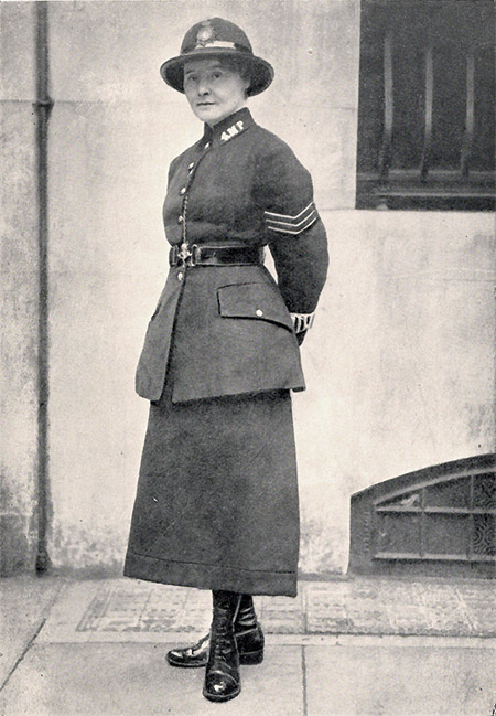 Lilian Wyles, one of the first police officers to take statements from female and child assault victims.