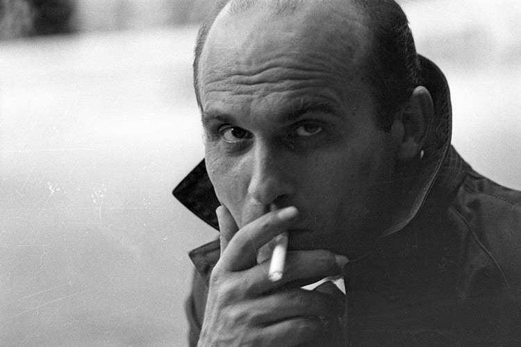 Ryszard Kapuscinski in Warsaw during the 1960s.