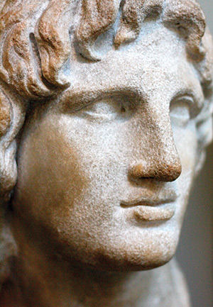 Early achiever: Alexander the Great. AKG Images