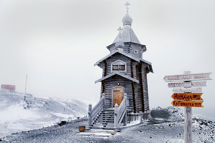 Russian Orthodox Church, King George Island, 2008.