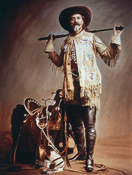 Portrait of William 'Buffalo Bill' Cody