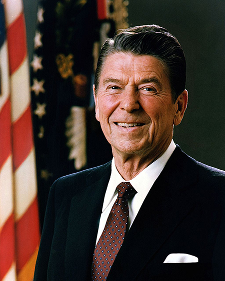 Official Portrait of President Reagan 1981.