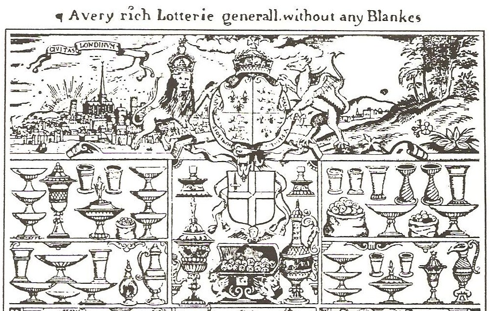 The 1567 Lottery. Wiki Commons.