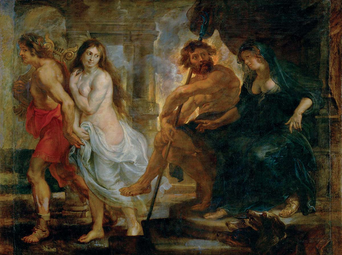 Orpheus, by Peter Paul Rubens, 1636-38. Museo Nacional del Prado, Madrid © akg-images