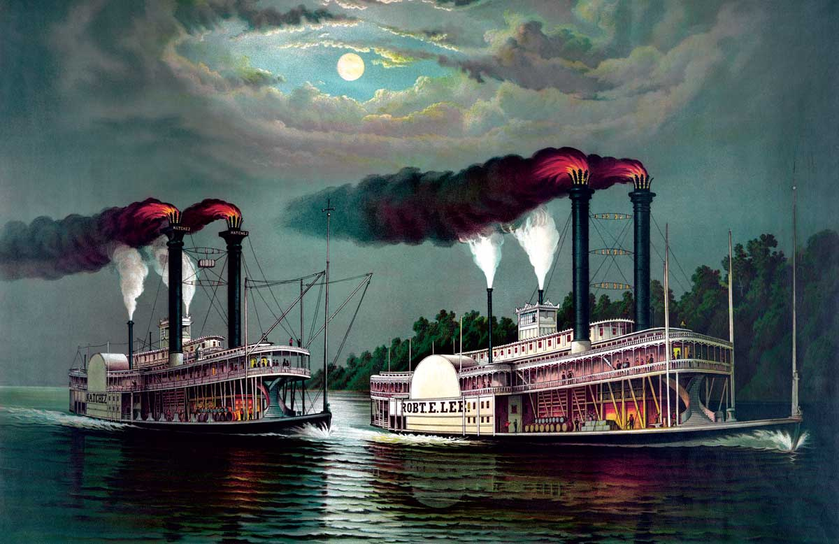 Image result for steamboat on mississippi