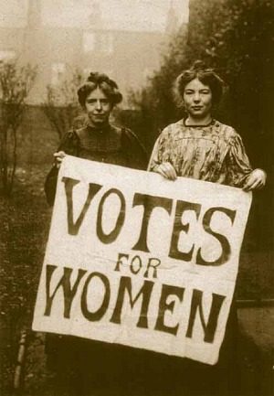 WSPU founders Annie Kenney and Christabel Pankhurst