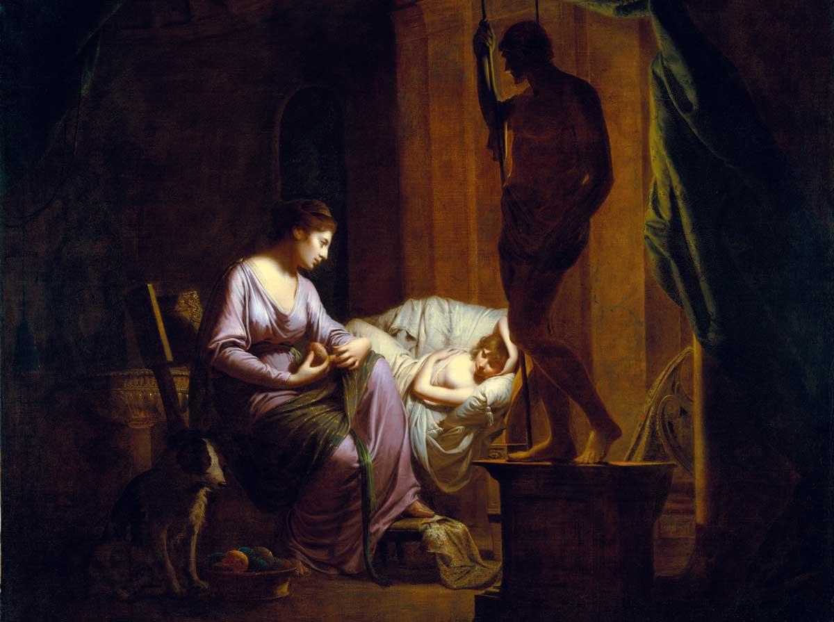 Suitors odysseus penelope The Odyssey