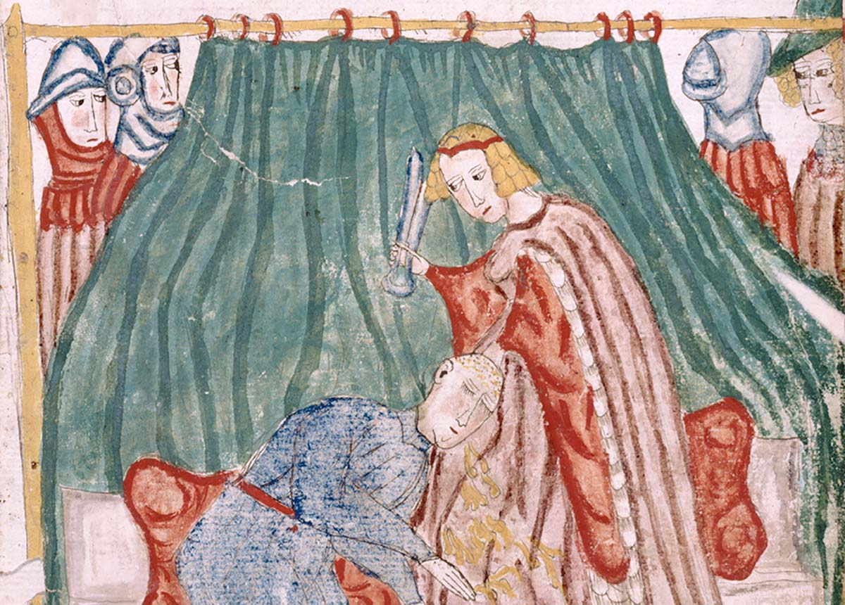 Scissors or Sword? The Symbolism of a Medieval Haircut  History Today