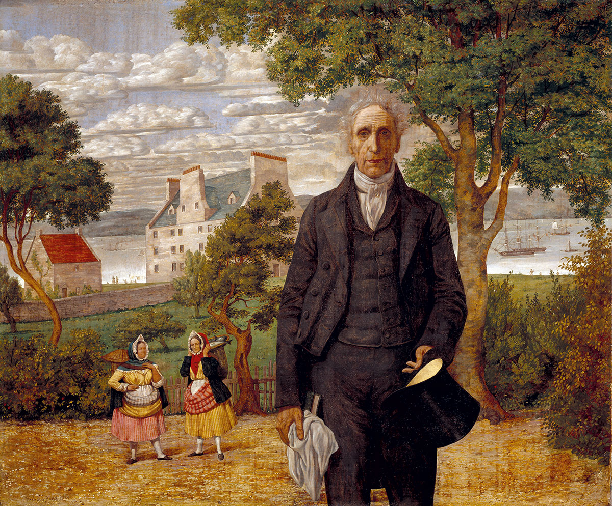 Alexander Morison by Richard Dadd, 1852.