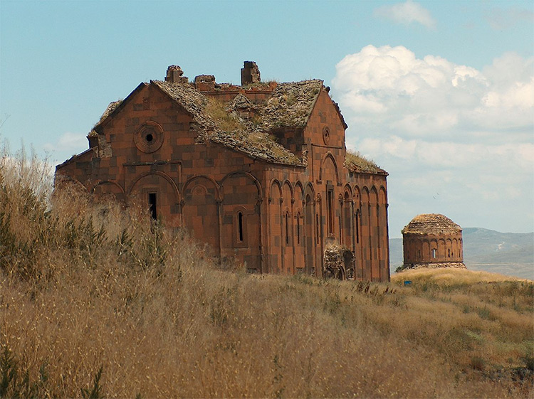 The Cathedral of Ani, completed in 1001 by Trdat the Architect.