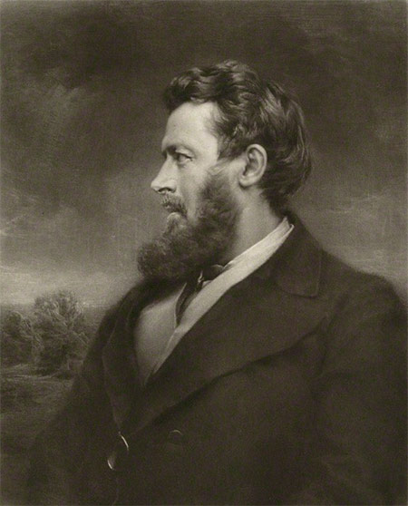 Portrait of Walter Bagehot (1826-1877)