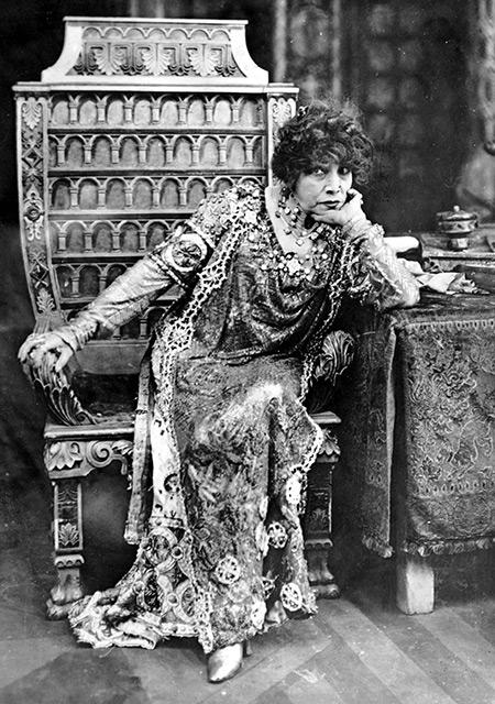 Out on a limb: Sarah Bernhardt, c.1920