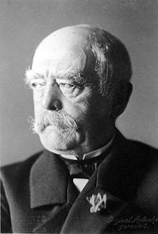 Otto von Bismarck in August 1890