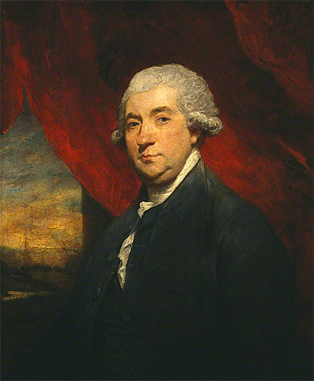 Portrait of James Boswell of Auchinleck by Sir Joshua Reynolds
