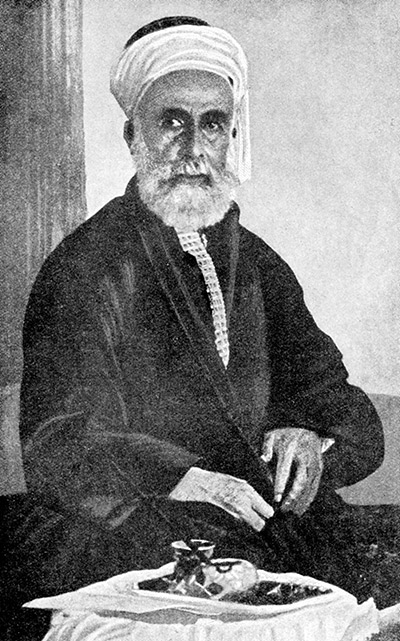 'An Arab of true race': Sharif Husayn of Mecca, 1922