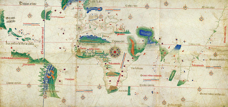 Alberto Cantino's world map (1502)