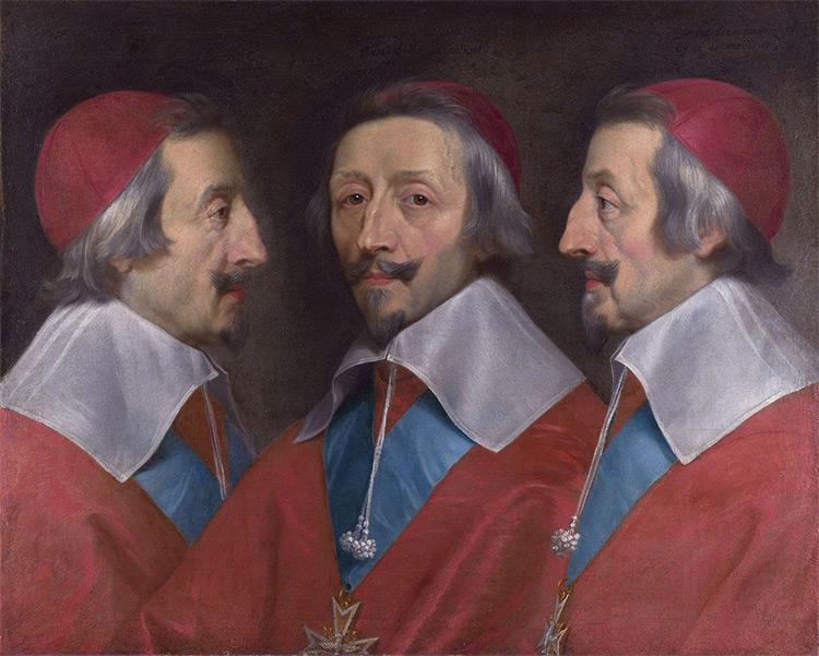 Cardinal de Richelieu, by Philippe de Champaigne