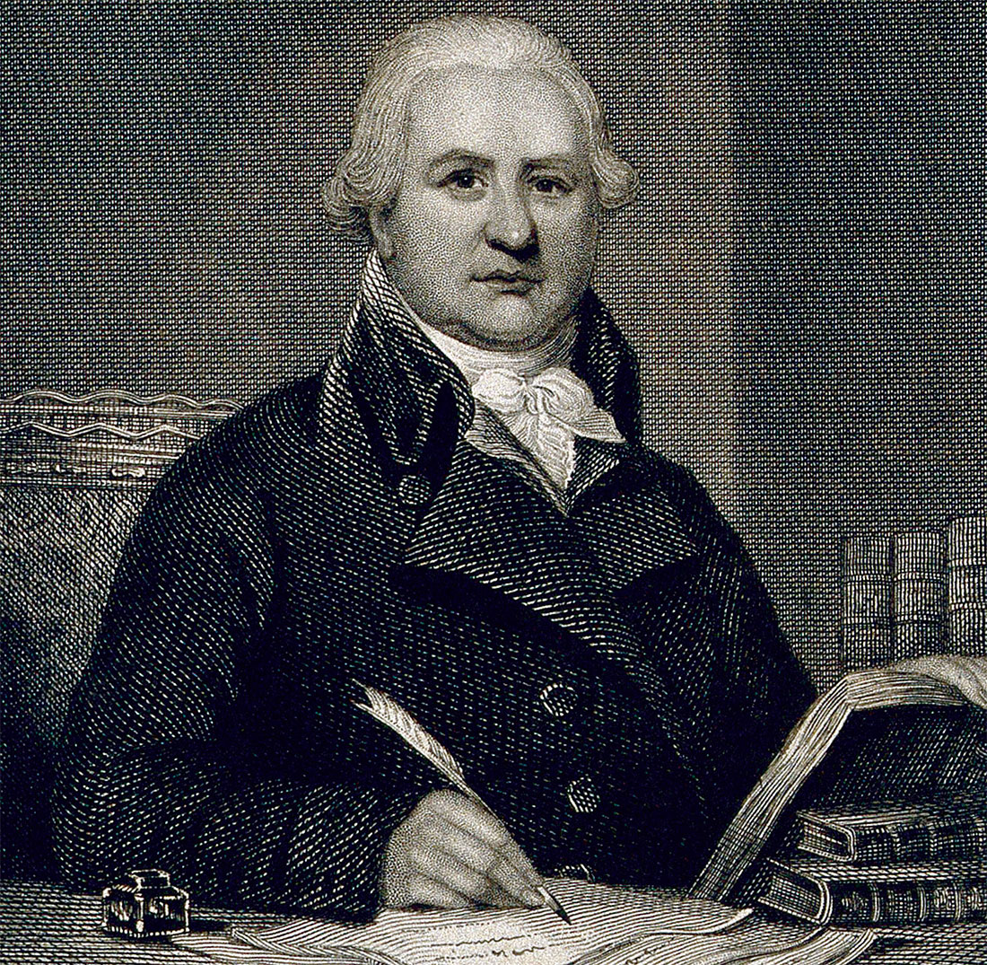 Charles Hutton, engraving by H. Ashby, 1824.