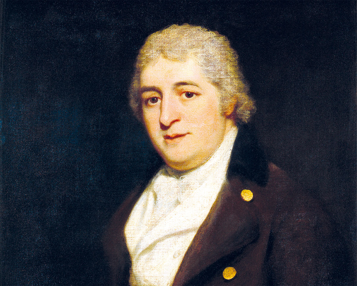 Charles Dibdin, by Thomas Phillips, 1799.