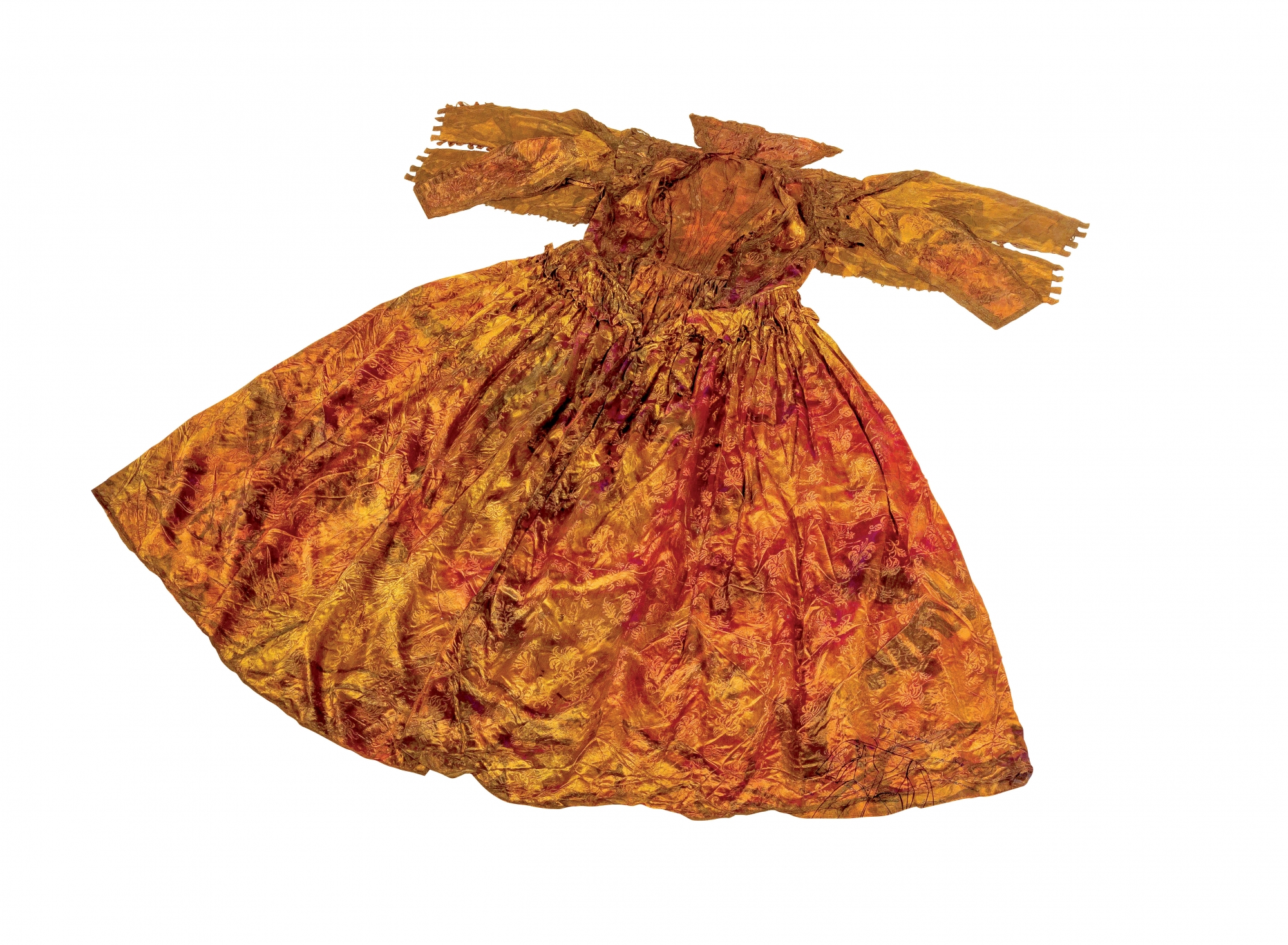 Dress found off the coast of Texel in April, 2015. Copyright Museum Kaap Skil