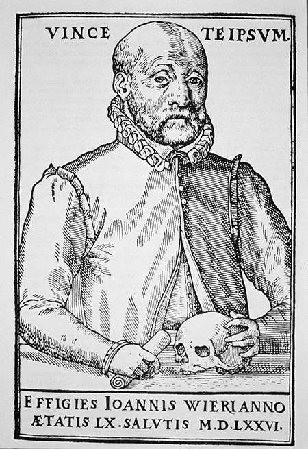 Johann Weyer, History of Magic, woodcut 1577.