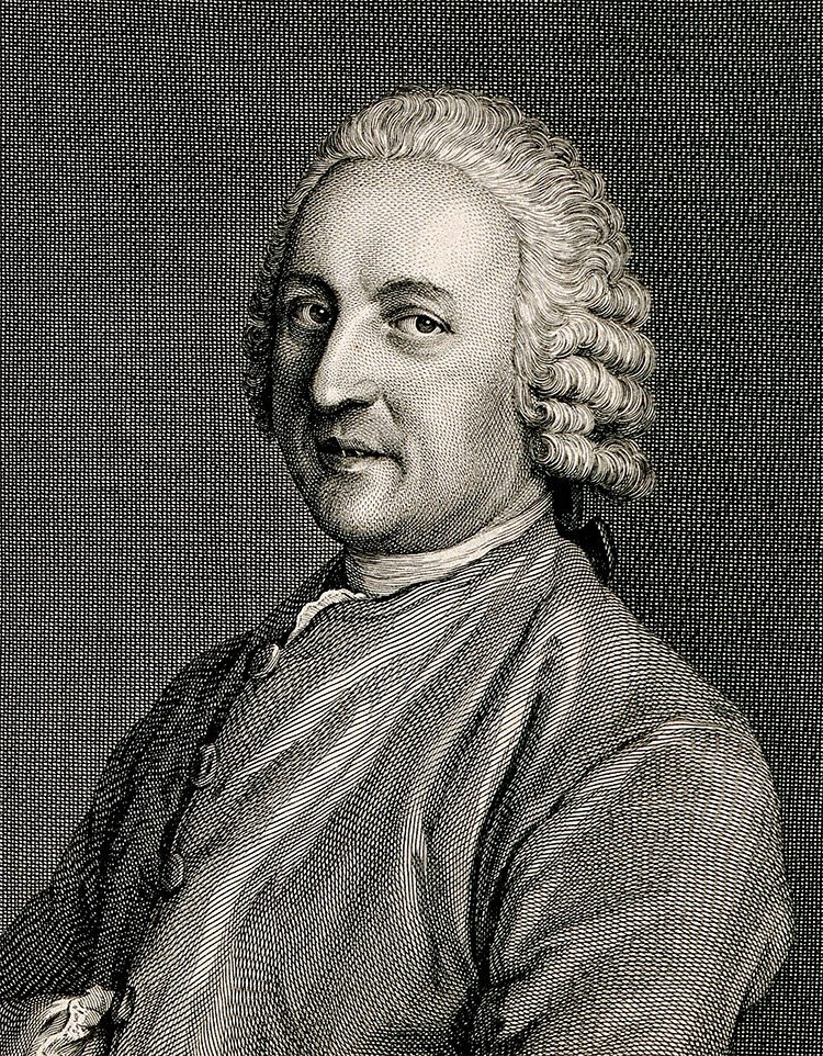 Théodore Tronchin, by Galliard after Liotard, 18th century.