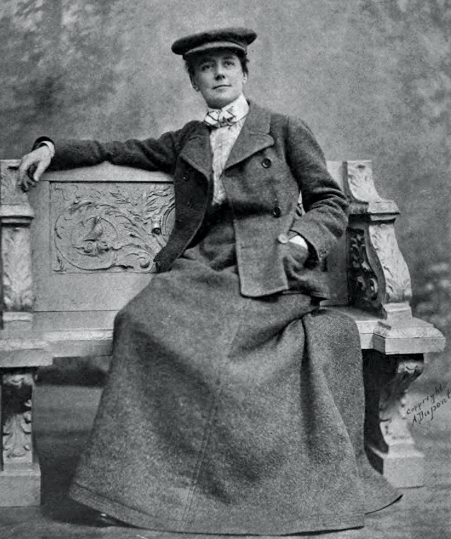 Equal temperament: Ethel Smyth, c.1915.
