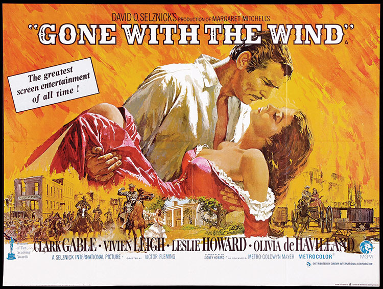 premiere of gone with the wind history today