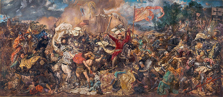 Battle of Grunwald by Jan Matejko (1878)