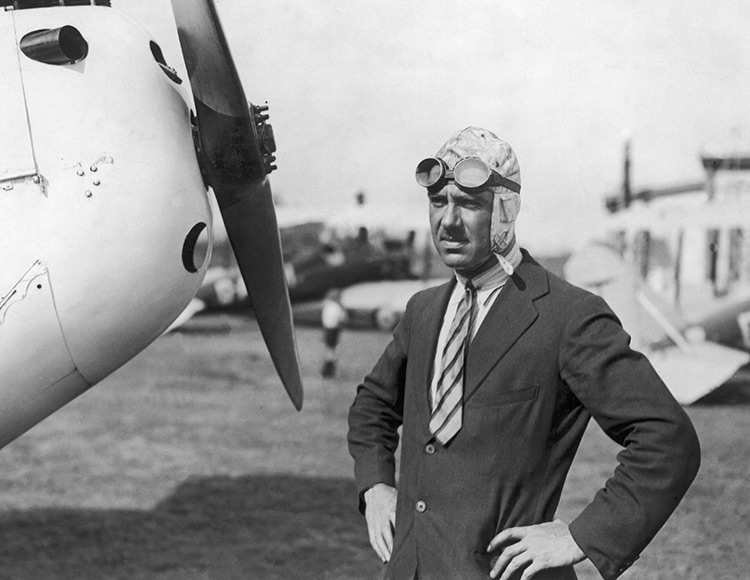 Geoffrey de Havilland, c.1925.