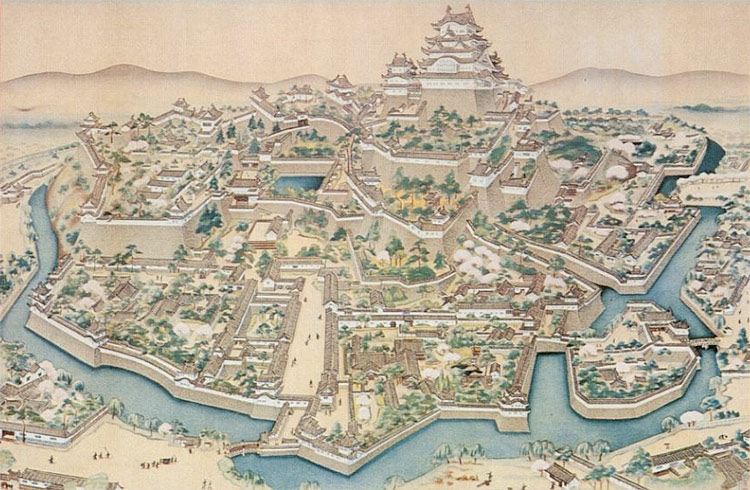 Japanese Castles | History Today on map of medieval castles, map of japan, map of austrian castles, map of minoan crete, map of hong kong, map of belgian castles, map of german castles, map of kinkaku-ji, map of polish castles, map of hokkaido, map of bavarian castles, map of hakata, map of english castles, map of european castles, map of shanghai, map of buddhist temples, map of scottish castles, map of danish castles, map of irish castles,