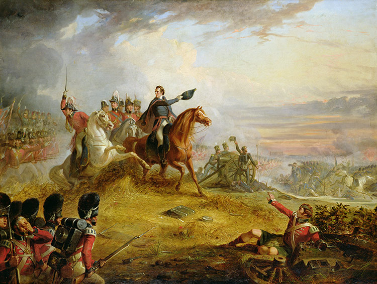Thomas Jone Barker, 'An Incident at the Battle of Waterloo in 1815'.