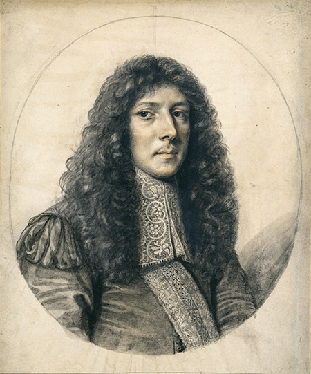Sole surviving portrait: John Aubrey, 1666. Ashmolean Museum, Oxford / Bridgeman Images