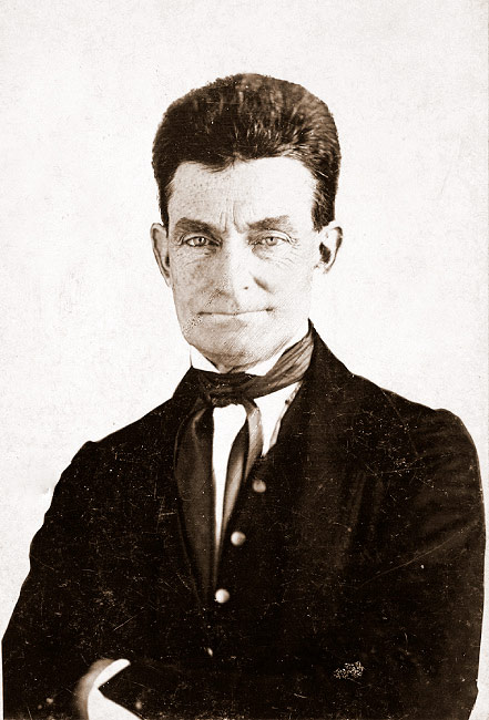 An 1846 daguerreotype of John Brown.