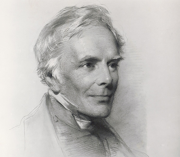 High churchman: John Keble in 1863