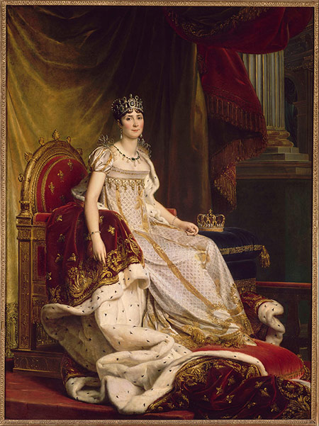 Joséphine in coronation costume