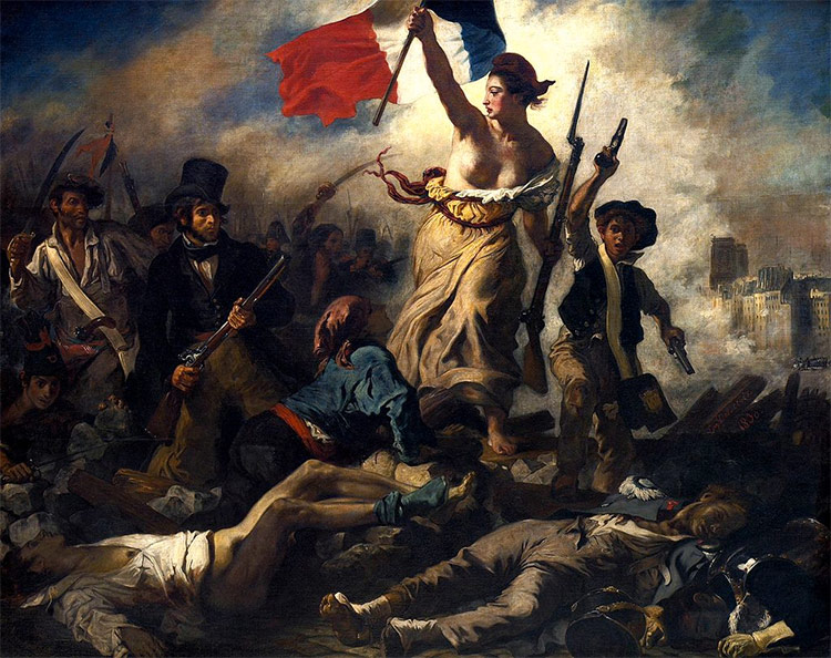 Delacroix's 'Liberty Leading the People'