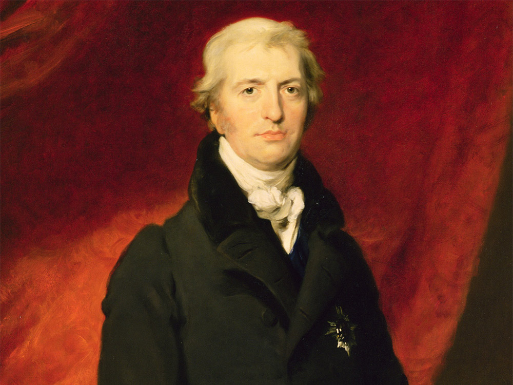 Robert  Banks Jenkinson, 2nd Earl of Liverpool, portrait by Thomas Lawrence, 1820.