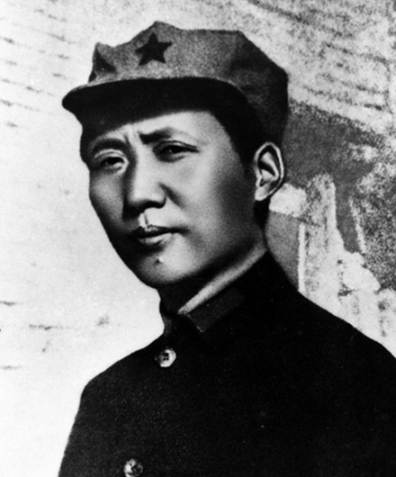 Chairman Mao in 1935
