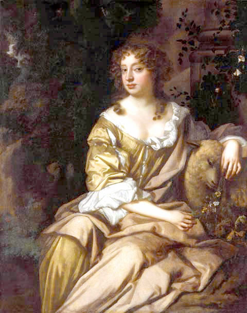 Nell Gwynn, by Peter Lely c. 1675