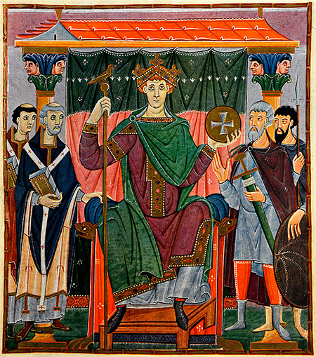 Otto III from the Gospels of Otto III