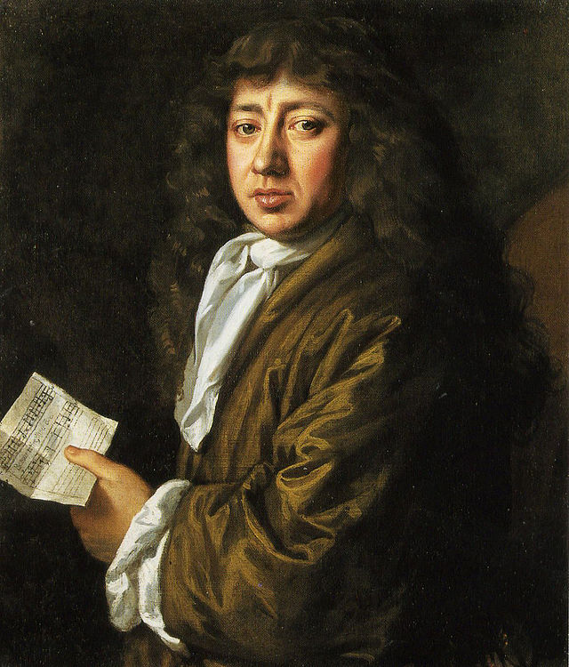 Portrait of Samuel Pepys by J. Hayls.