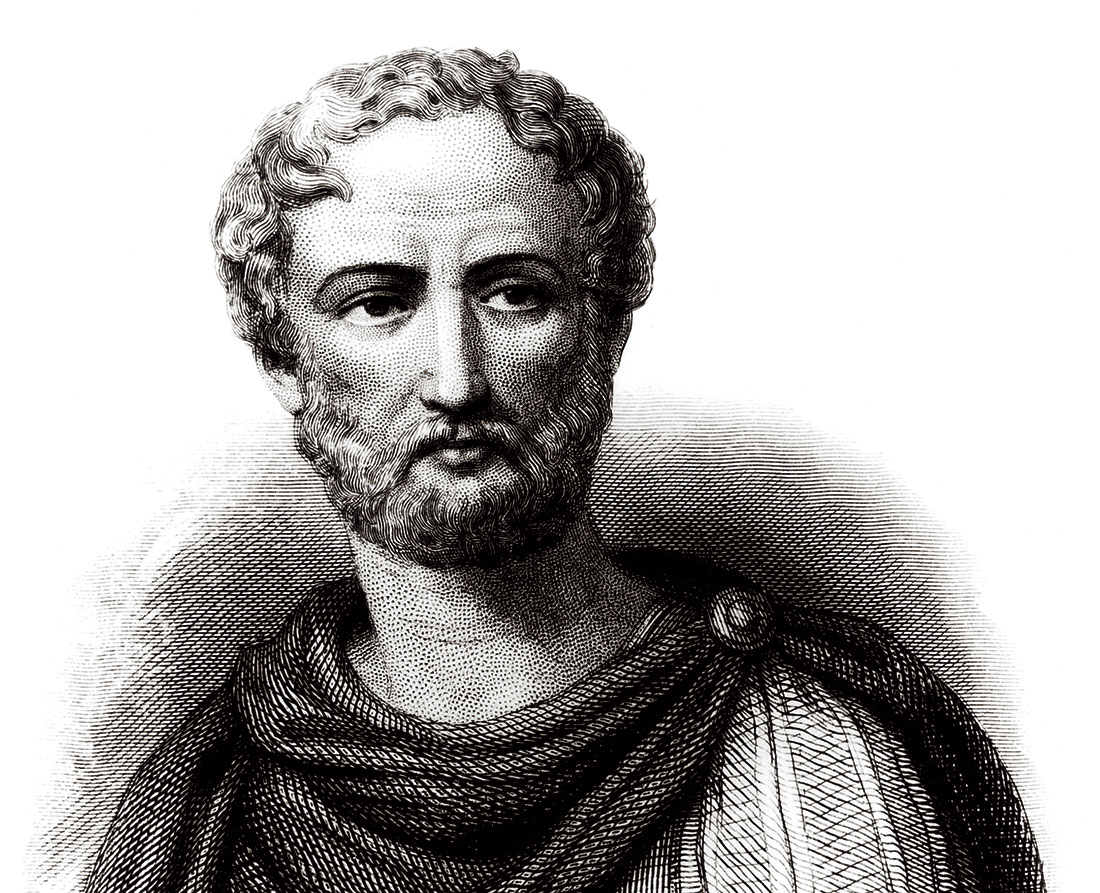 Pliny the Younger, 19th-century engraving.
